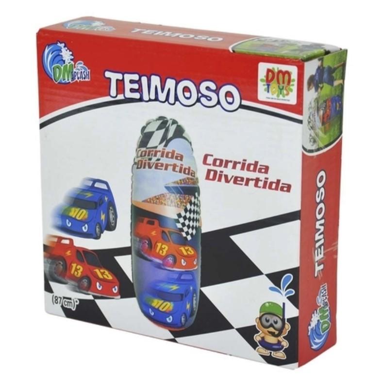Teimoso Corrida Divertida 87cm DM Toys Joao Bobo DMS5417