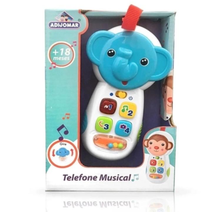Telefone Musical  Elefantinho  Adijomar