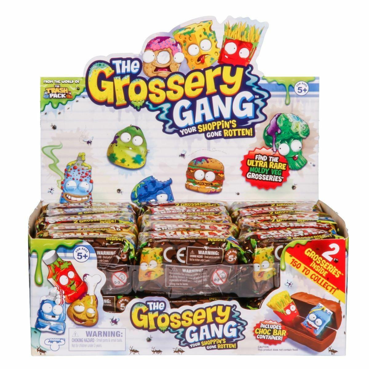The Grossery Gang- Crusty Barra de Chocolate- DTC- 3893