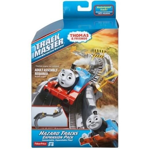 Thomas E Seus Amigos Fisher - Price - Pacote Acessórios E Vias Curvas Perigosas Bmk81