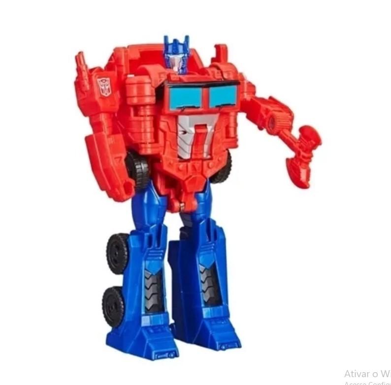 Transformers Cyberverse 1 Passo Optimus Prime Hasbro