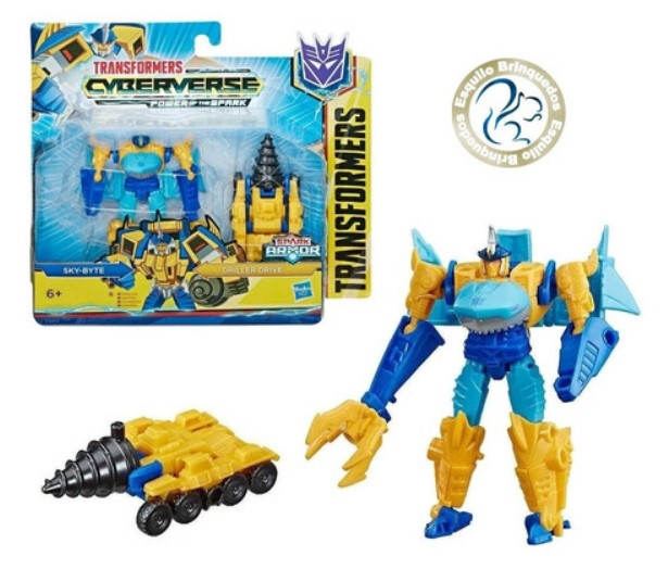 Transformers Cyberverse Driller Drive Hasbro
