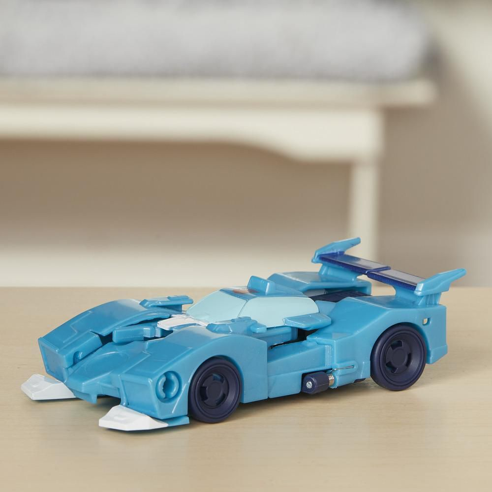 Transformers Cyberverse Step Changer Blurr Hasbro E3522