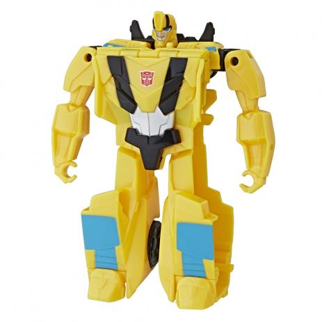 Transformers Cyberverse Step Changer Bumblebee- Hasbro-E3522