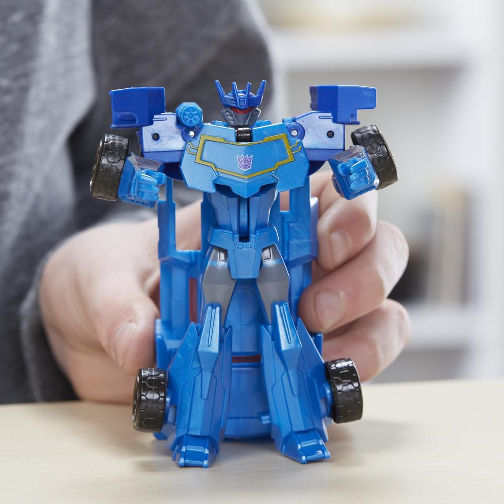 Transformers Cyberverse Step Changer Soundwave- Hasbro-E3522