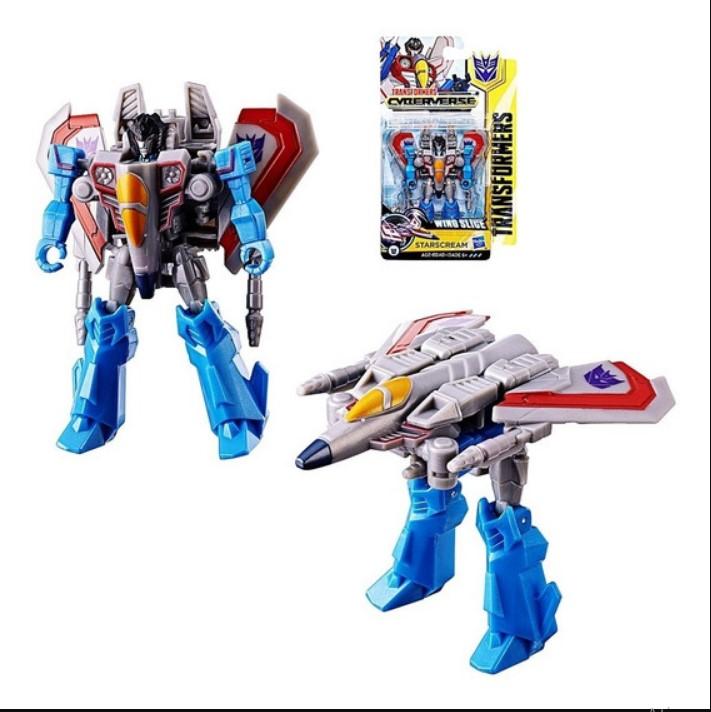 Transformers Cyberverse Wing Slige  Starscream Hasbro E1894