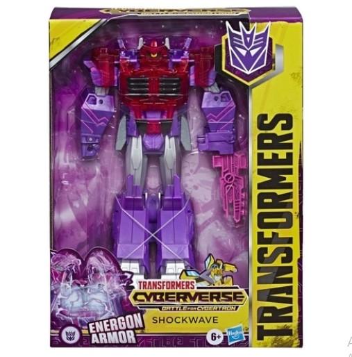 Transformers Figura Cyberverse Ultimate Shockwave