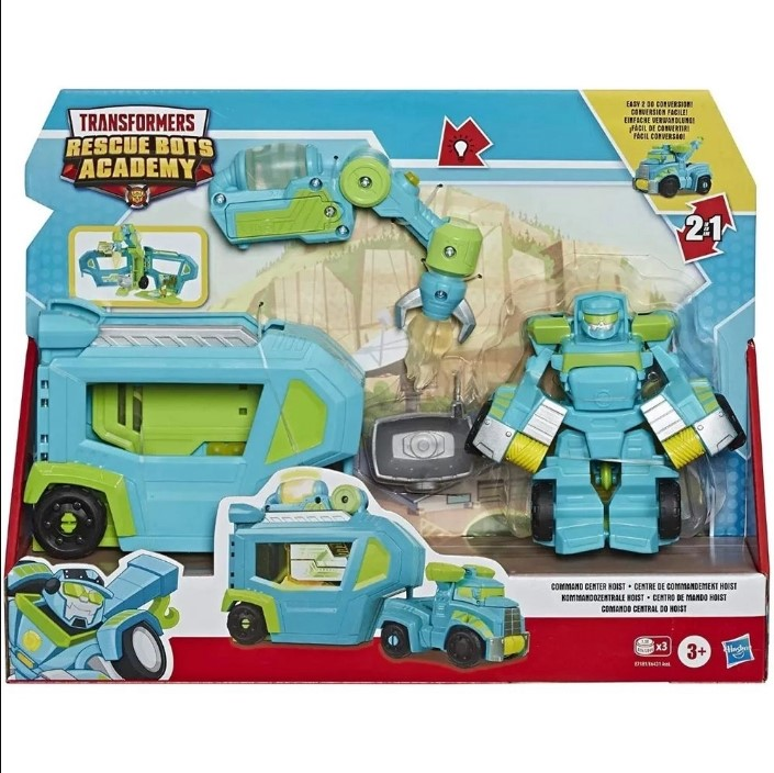 Transformers Rescue Bots Academy Comando Central do Hoist E7181