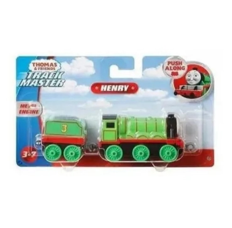 Trenzinho Thomas E Seus Amigos Push Along Henry  Mattel GDJ55