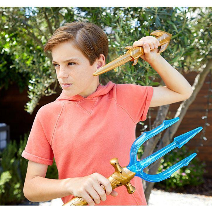 Tridente de Luxo Aquaman com Luzes e Sons- Mattel - FWX32