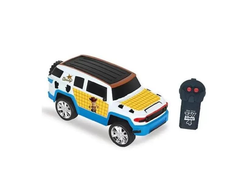 Veículo de Controle Remoto  Fun Drivers Disney Toy Story Woody Candide 4912