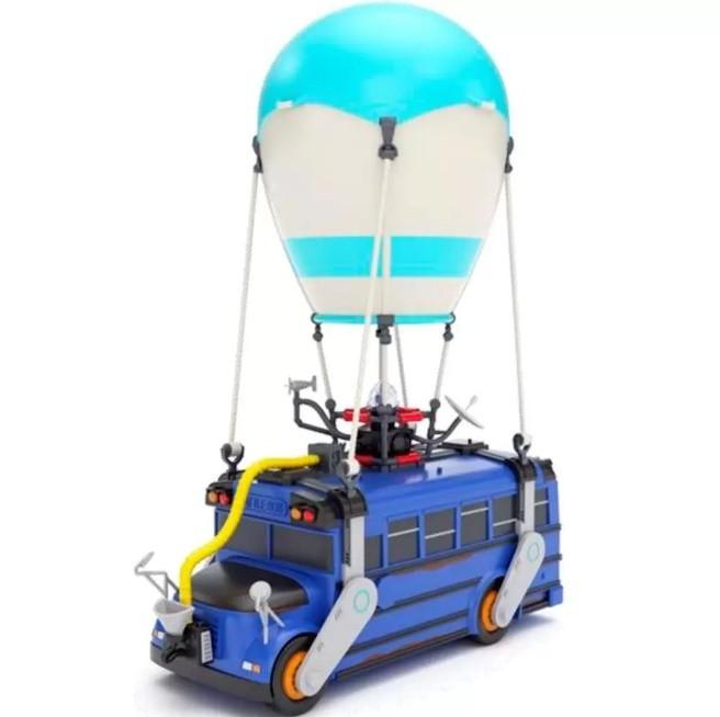 Veículo e Figura Fortnite Ônibus de Batalha e Boneco Fun