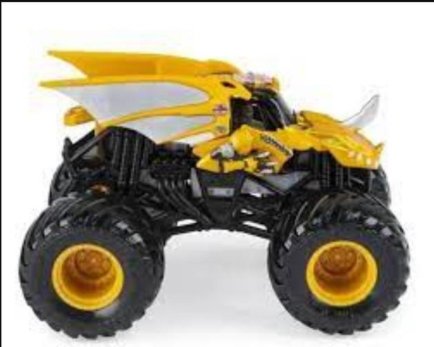 Veiculo Monster Jam Monster Truck Unitario e Sortido 2025 - Sunny