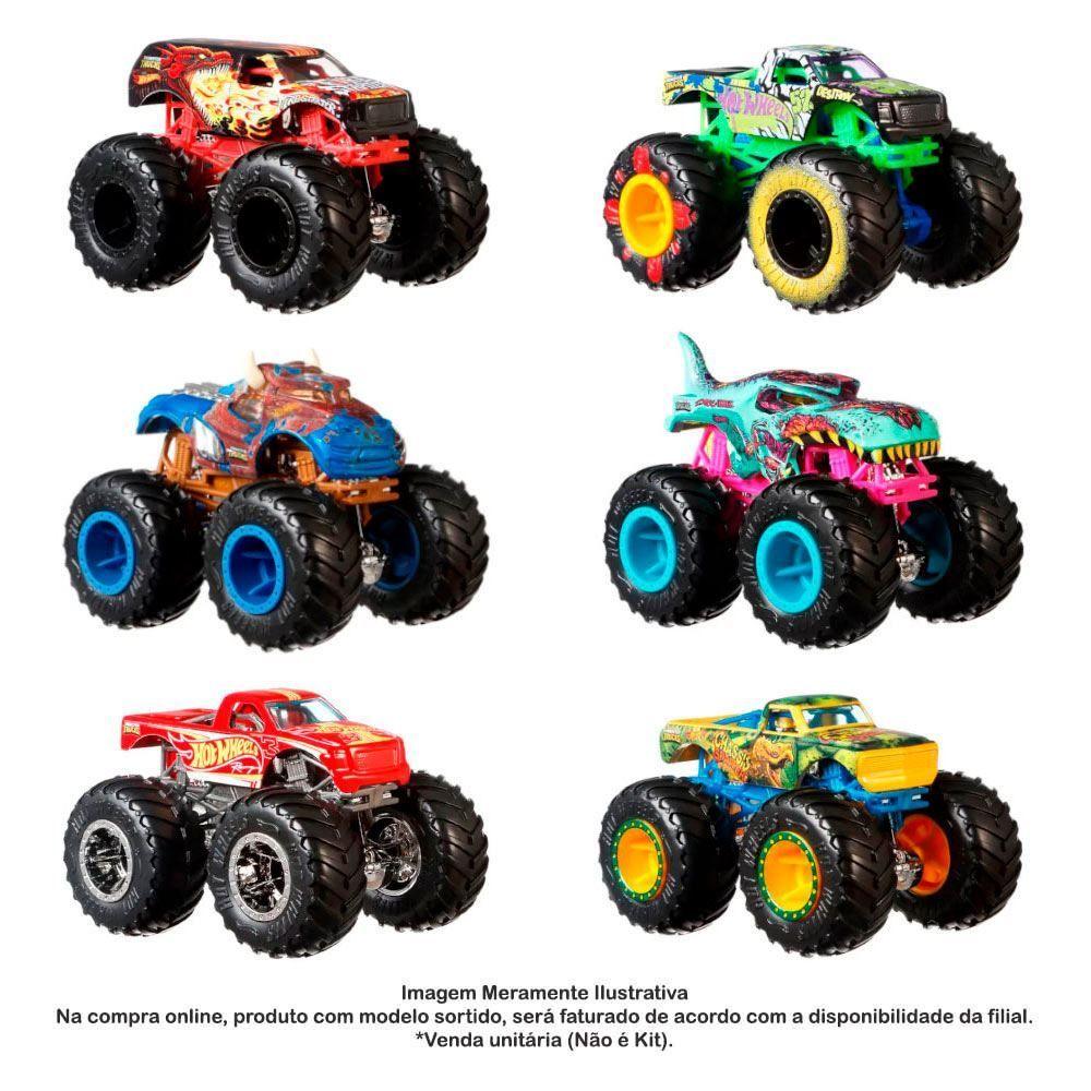 Veiculo Monster Jam Monster Truck Unitário e Sortido Sunny