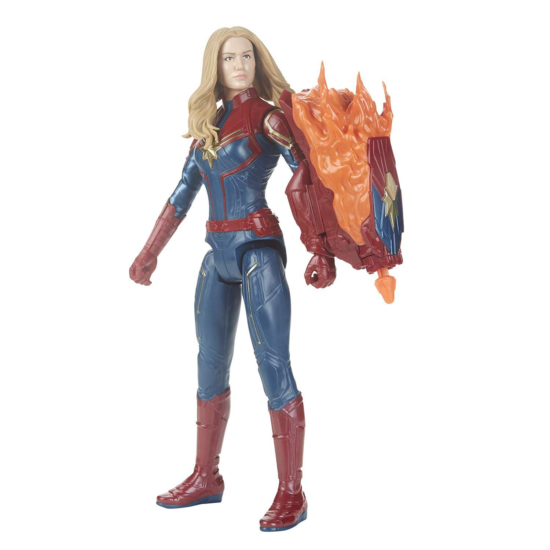 Vingadores da Marvel Endgame Titan Poder Hero FX Capitã Marvel
