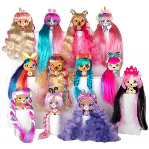 Imc Toys vip Pets Rosa Boneca revelação de cabelo surpresa série 1 Multikids