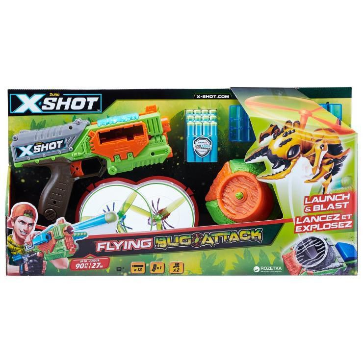 Lançador de Dardos Attack Swarm Seeker Candide 5543