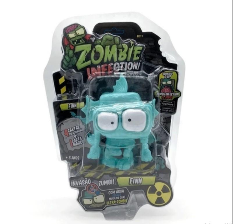 Zombie Infection Boneco Finn Fun Divirta-se