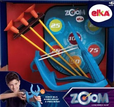 Zoom Lançador e ALVO ELKA 1043