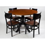Jogo Mesa Redonda com 4 Cadeiras Grecia