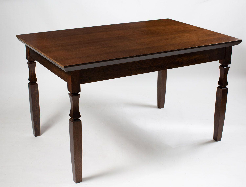 Jogo Mesa Retangular com 4 Cadeiras de Madeira Maciça para Cozinha