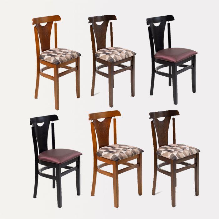 Kit 06 Cadeiras Baiuca