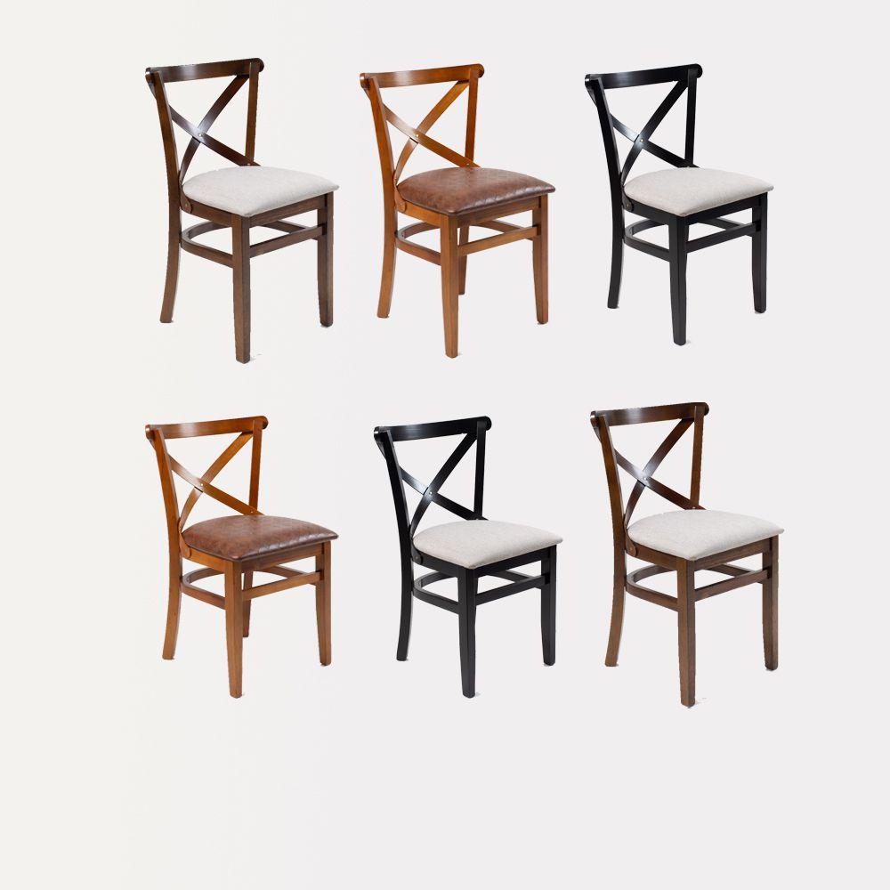 Kit 06 Cadeiras Xangai