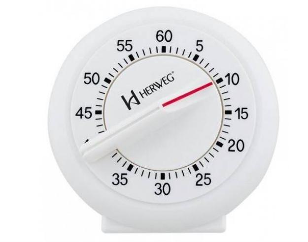 Timer Herweg 3203 Contagem Regressiva Alarme Sonoro 60 Min