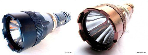 Lanterna Tática Mergulho A Prova Da Água Led T6 + Forte