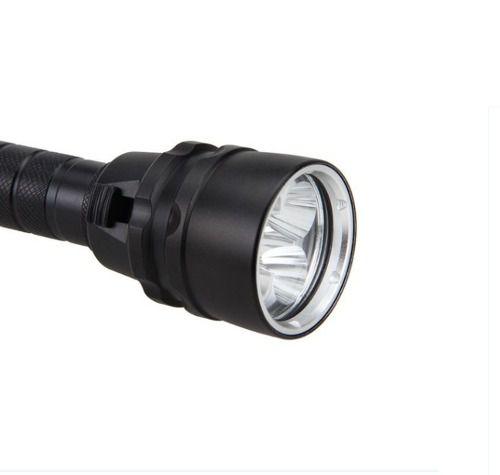 Lanterna Mergulho Profissional 58000l 5 Led Cree Xml L2 Led