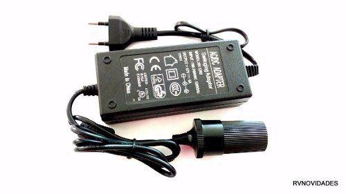 Conversor Adaptador Para Mini Geladeira 110v 220v P/ 12v 6a