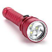 Lanterna Mergulho Profissional 58000l 3 Led Cree Xml L2 Led