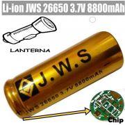 Bateria Recarregável 26650 /8800mah 3.7v Lanterna