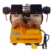 Compressor de ar elétrico Compbrasil 550-2 monofásica 220V 60Hz