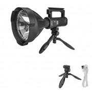 Lanterna holofote Super P70 recarregável Usb