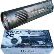 Lanterna Led T6 Recarregável Super Forte 2 Baterias