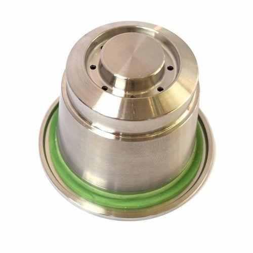 Kit Capsula Reutilizável Inox Cafeteiras Nespresso + Tamper