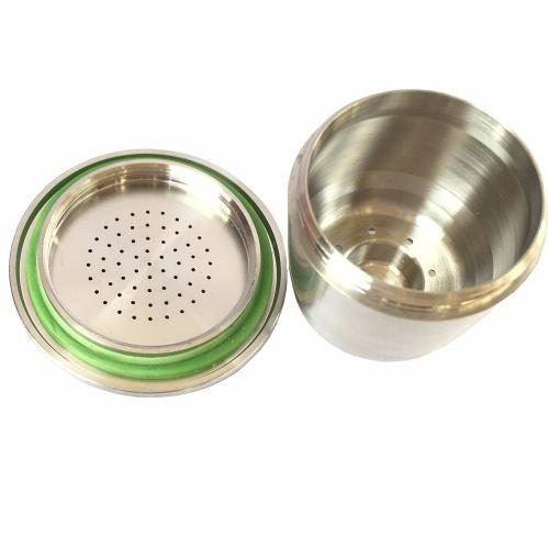 Nespresso Capsula Reutilizável Cafeteiras Inox Refil Filtro