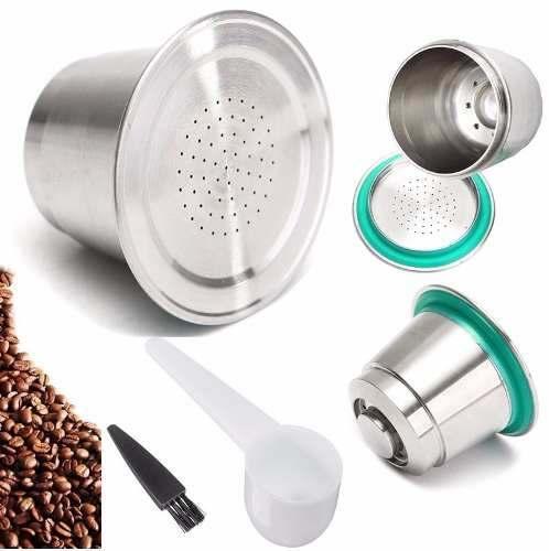 Capsula Reutilizável Cafeteiras Nespresso Inox Refil Filtro