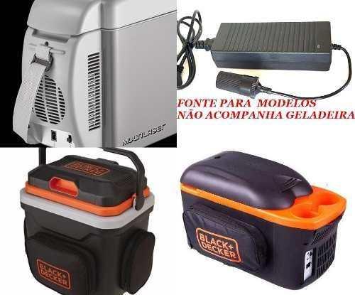 Fonte para Mini Geladeira Nautika Chuveiro Multilaser 110v220 12v