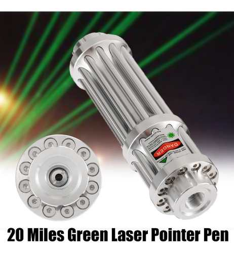 Laser Pointer Green Verde 532nm Faixa Laser 2000m