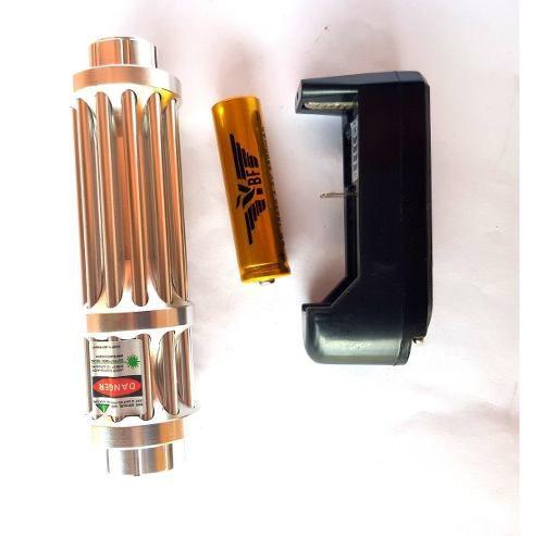 Laser Pointer Green Verde 532nm Faixa Laser 2000m