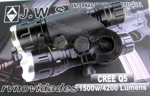 Farol para  Bike Recarregável  4200 lumens 1500w Led Q5