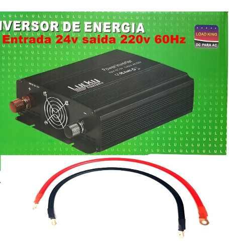 Inversor De Tensão 24v 220v 4000w 60hz