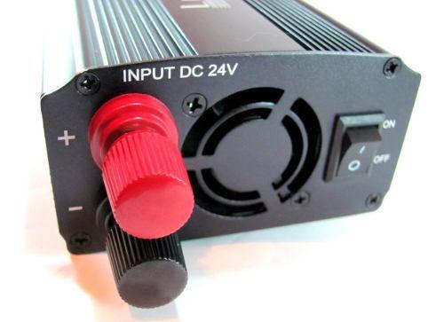 Inversor Conversor Veicular 2000w 24v Para 220v Usb
