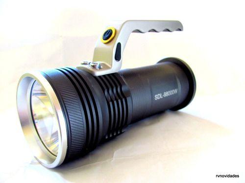 Lanterna Holofote Recarregável 28000 Lumens Led T6 Forte