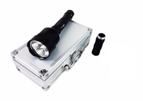Lanterna Holofote Recarregável Tática 3 Led L2usa Mais Forte