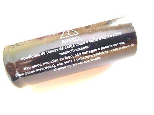 Carregador Lanterna Tática Com Baterias 26650 4.2v Rápido