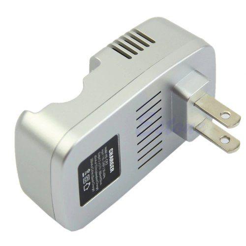 carregador + Bateria Recarregável  Cr2 880 Mah 3v