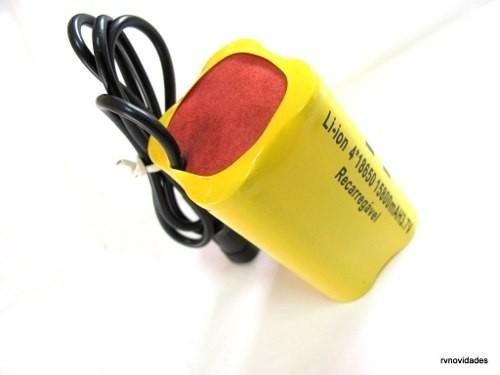 Bateria P/ Lanterna Farol Bicicleta Bike P/marcas Jws Hy